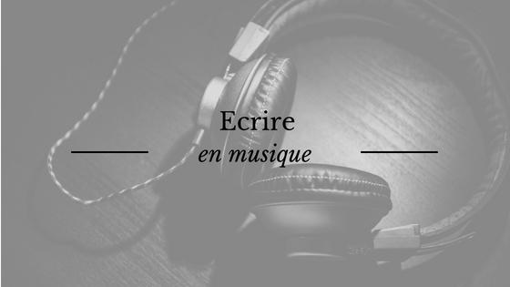 Ecrire en musique