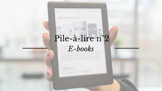 Pile à lire : les livres numériques
