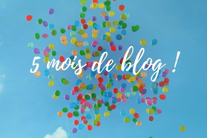 Lâcher de ballons pour fêter 5 mois de blog