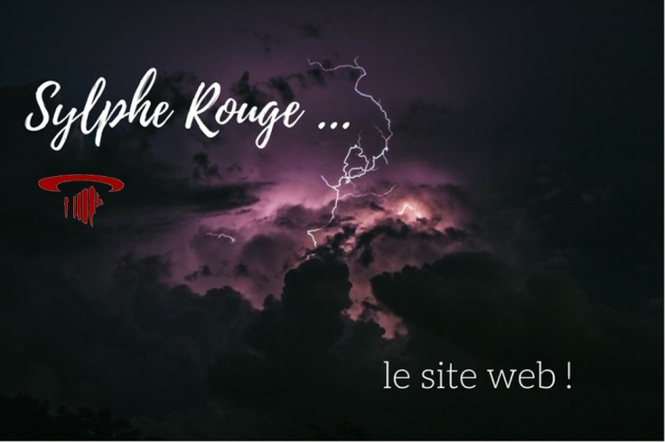 Lancement du site web de la maison d'édition Sylphe Rouge