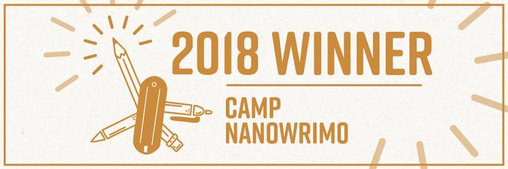 Camp NaNoWriMo 2018 réussi