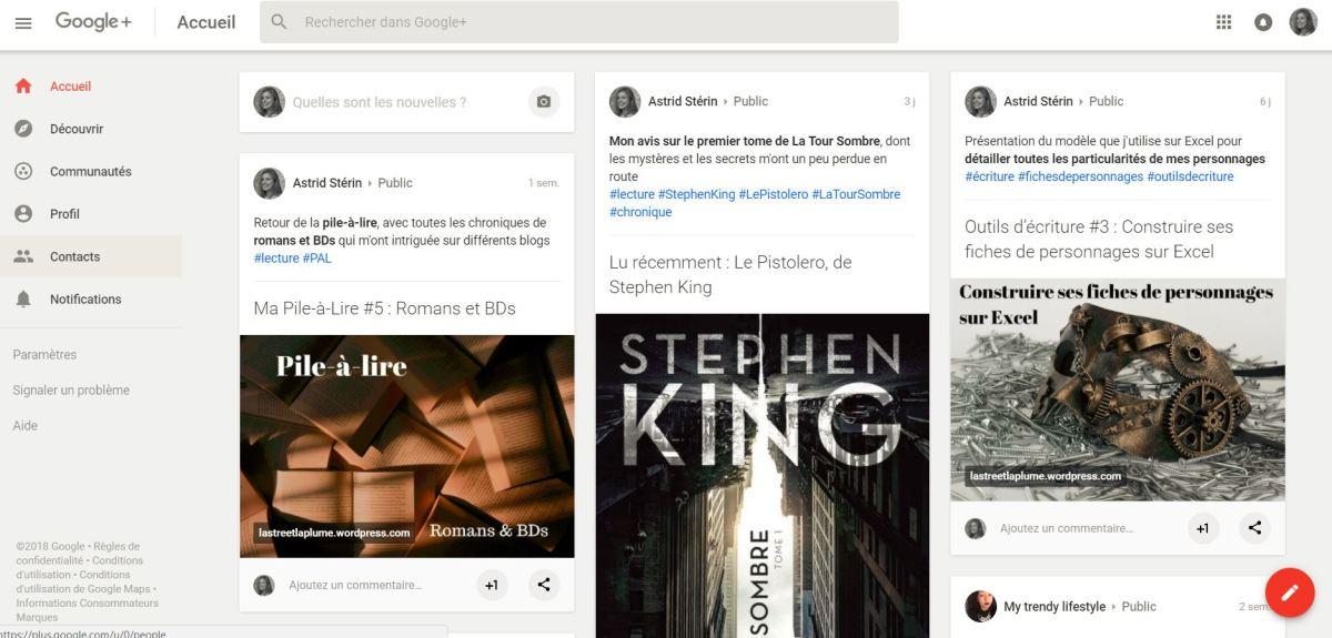 Optimisation des articles dans Google+