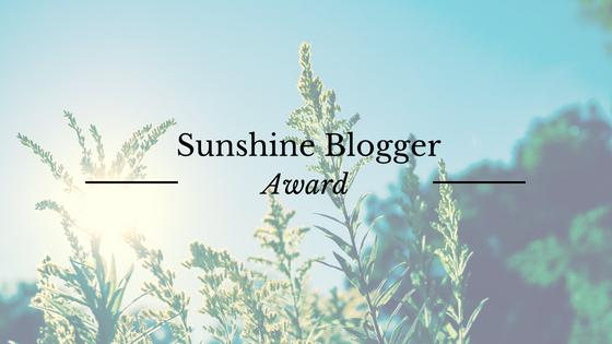 Sunshine Blogger Award : 11 réponses et 11 questions