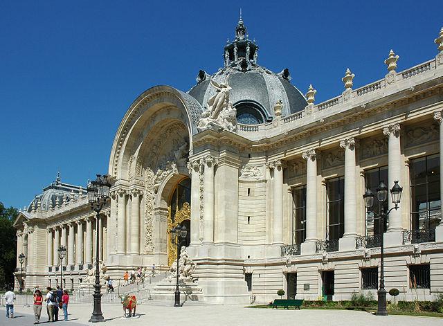Façade du Petit Palais