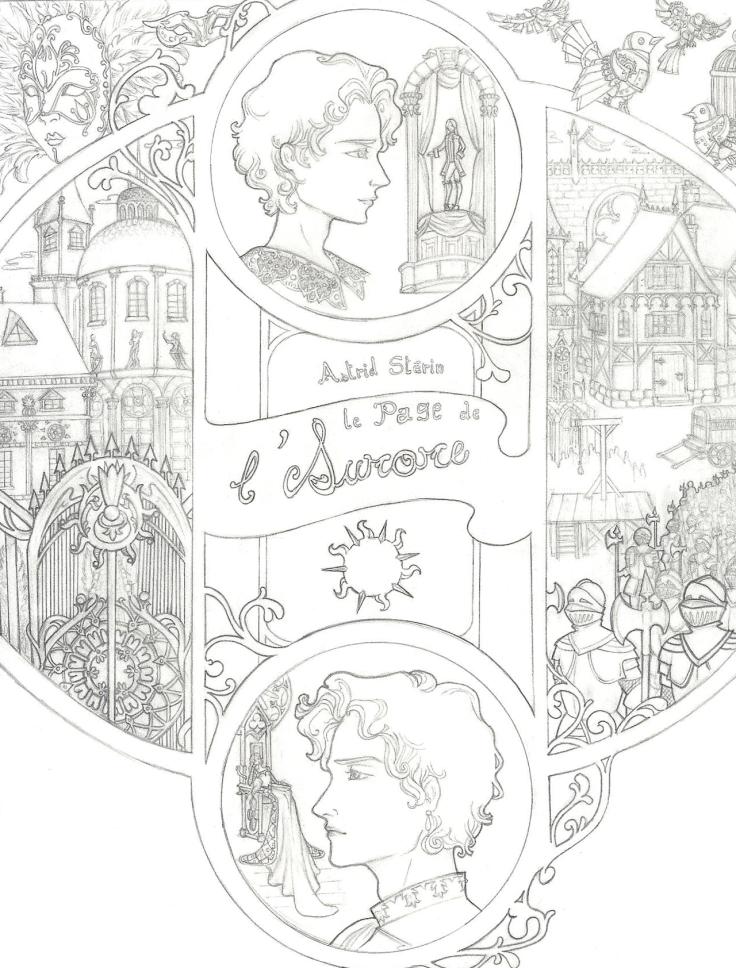 Projet de couverture pour le Page de l'Aurore