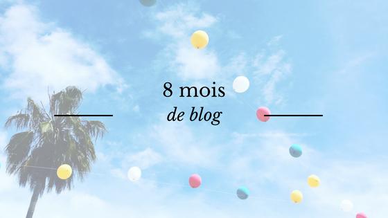 8 mois de blog : bilan de l'Astre et La Plume