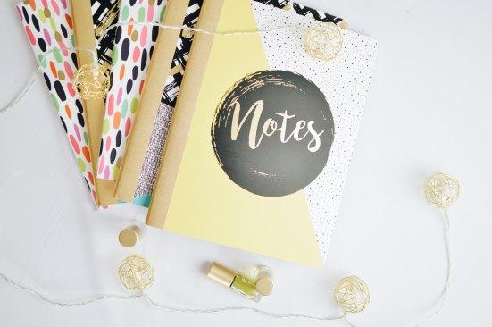 Utilisez de jolis carnets pour stimuler votre créativité