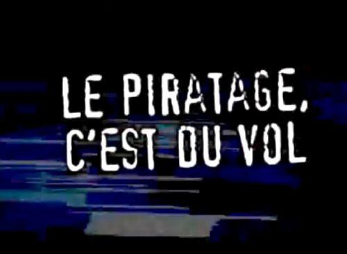 Le piratage, c'est du vol