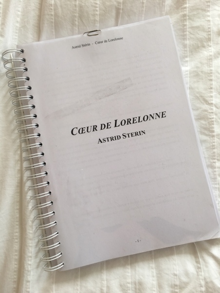 Le Page de l'Aurore : première tentative de publication