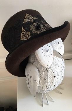 chapeau haut-de-forme steampunk