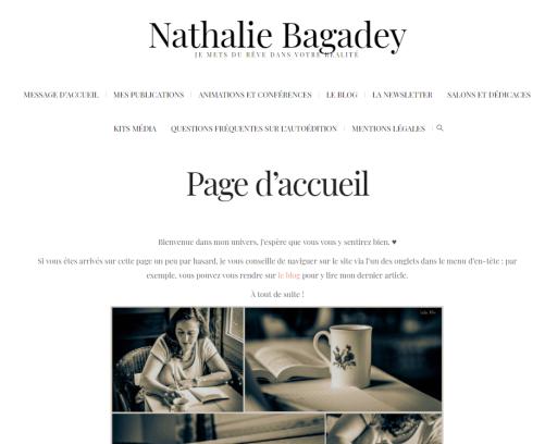 Le blog de Nathalie Bagadey