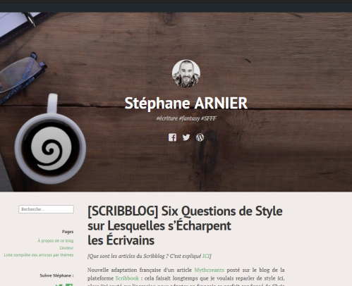 Le blog de Stéphane Arnier