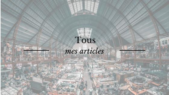 Tous les articles de mon blog