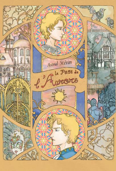 Couverture - Le Page de l'Aurore, d'Astrid Stérin