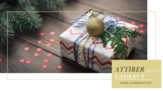 Comment créer sa newsletter : générer des inscriptions avec des cadeaux