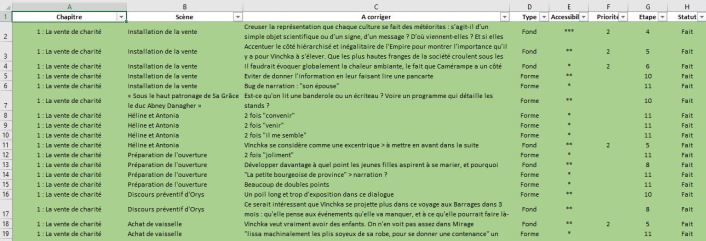 Corrections sur Excel-finies
