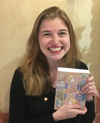 """Astrid Stérin, autrice du """"Page de l'Aurore"""""""