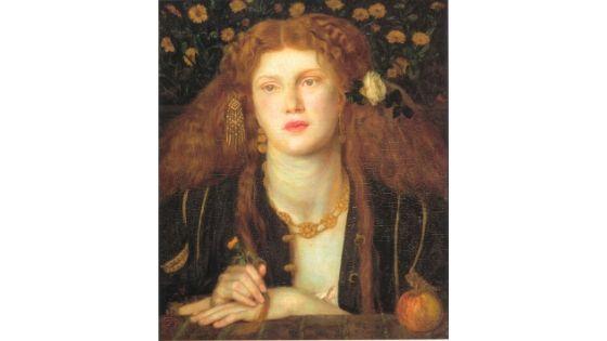 Bocca Baciata, Rossetti, 1859