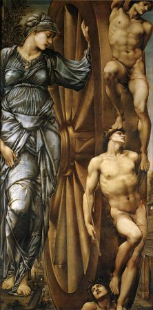 La Roue de la Fortune, Burne-Jones, 1875-83