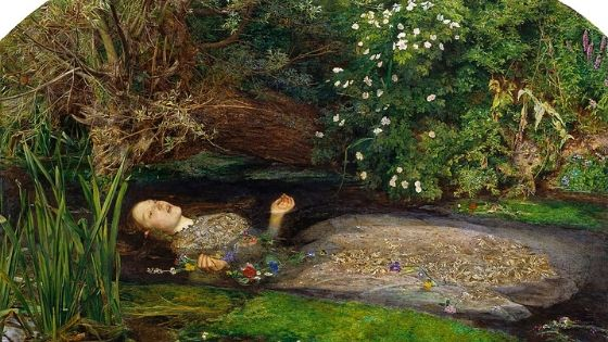 Ophelia, John Everett Millais, 1851-52