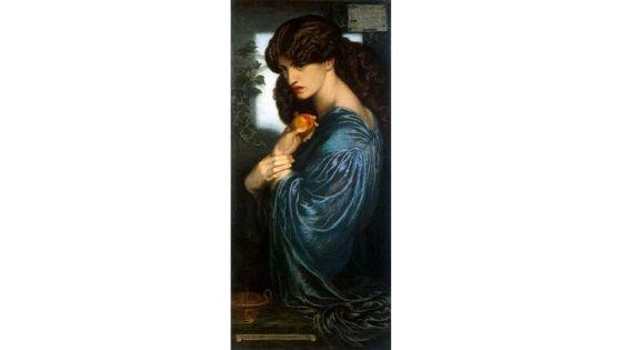 Proserpine, Rossetti, 1874
