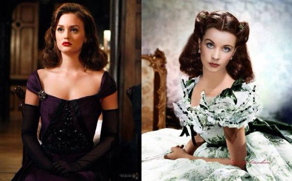 Blair Waldorf / Scarlett O'Hara